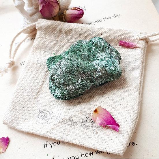 Fuchsite the 'Fairy Crystal'
