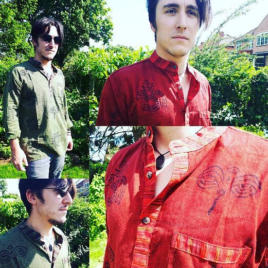 Block Print Kurta Shirt
