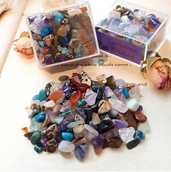 Box of Polished Mini Gems