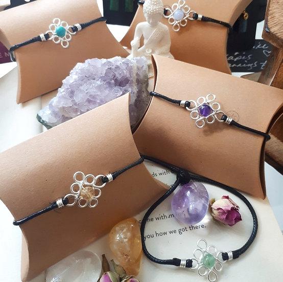 Edwardian-style Crystal Friendship Bracelet