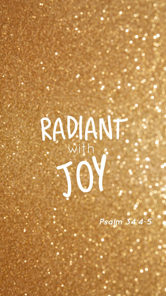 Radiant With Joy