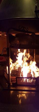Grillkota Feuer