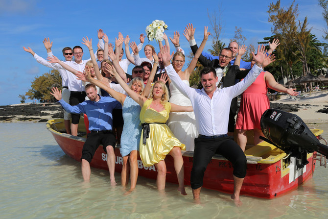 Hochzeit im Familienkreis auf der Trauminsel Mauritius