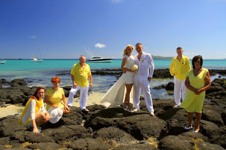 Hochzeit am Cap Malheureux