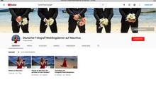 Neuer Youtube-Kanal Deutscher Fotograf/Weddingplanner auf Mauritius