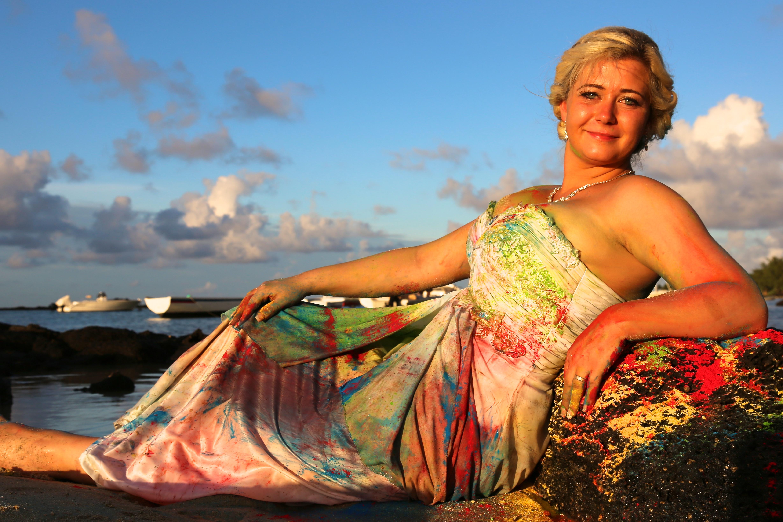 Trash the Dress auf Mauritius