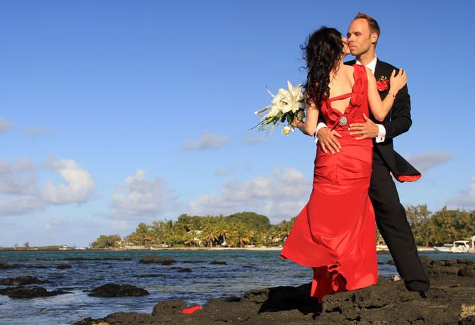 After-Wedding in den Flitterwochen auf Mauritius