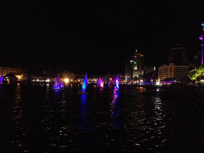 Kulturfeste auf Mauritius - Porlwi by Light