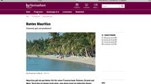 Deutscher Fotograf zeigt im HR-Fernsehen das bunte Mauritius