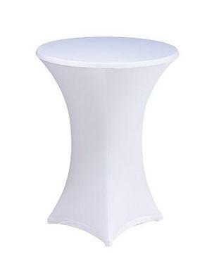 Mange debout cocktail lycra blanc noir m