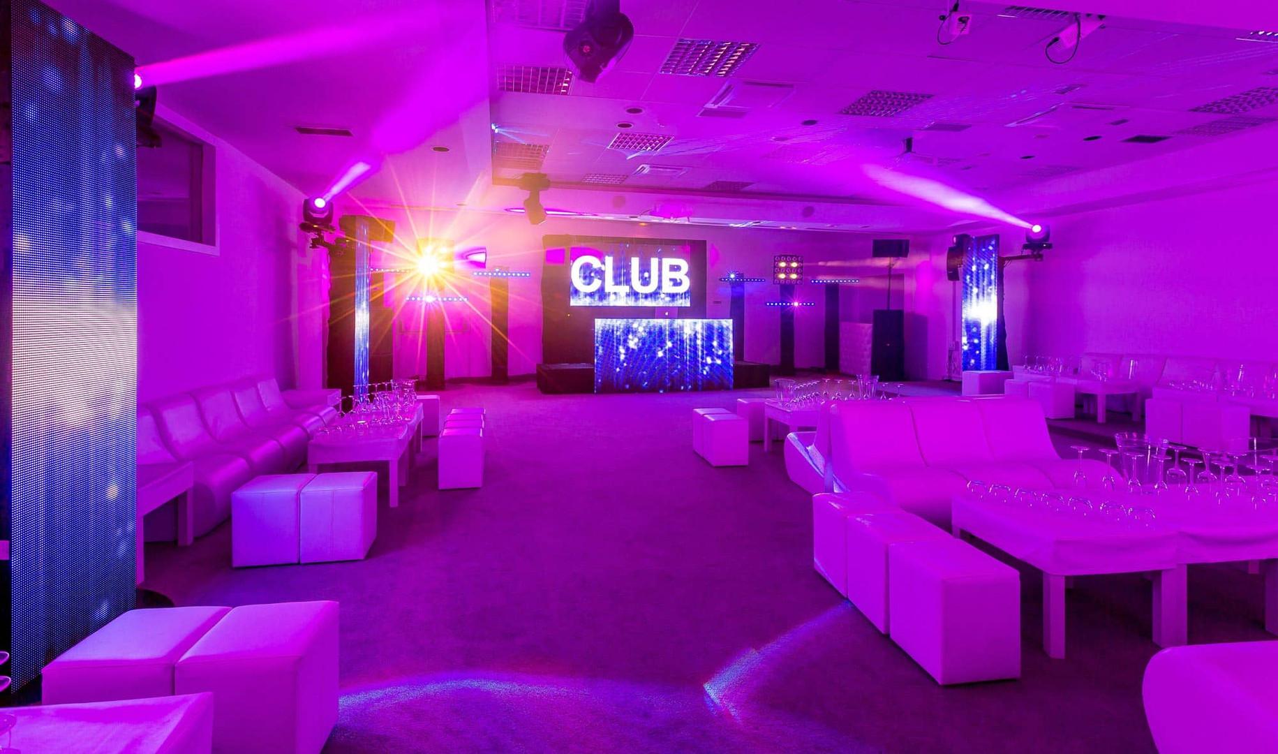 Eclairage clubing