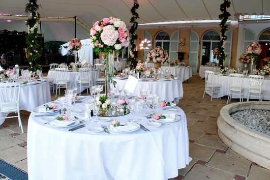 Table decoration and centerpieces