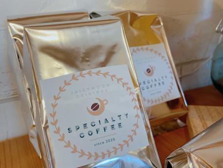 コーヒー豆の販売を始めました