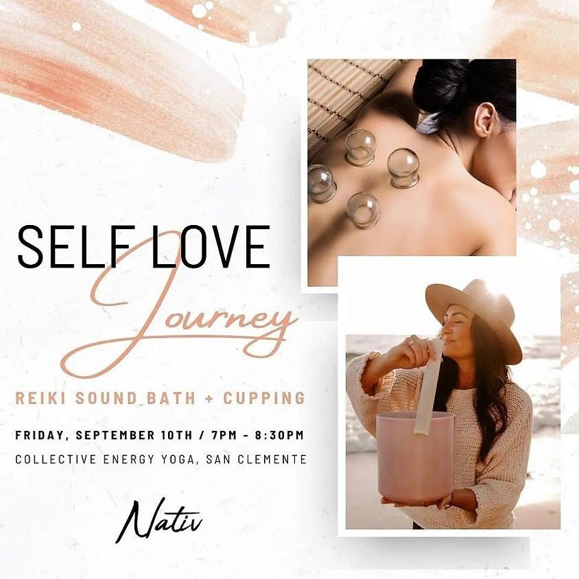 Self-Love Reiki Sound Bath + Cupping
