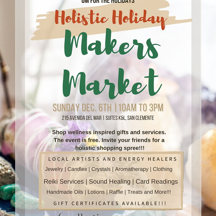 Holistic Holiday Makers Market
