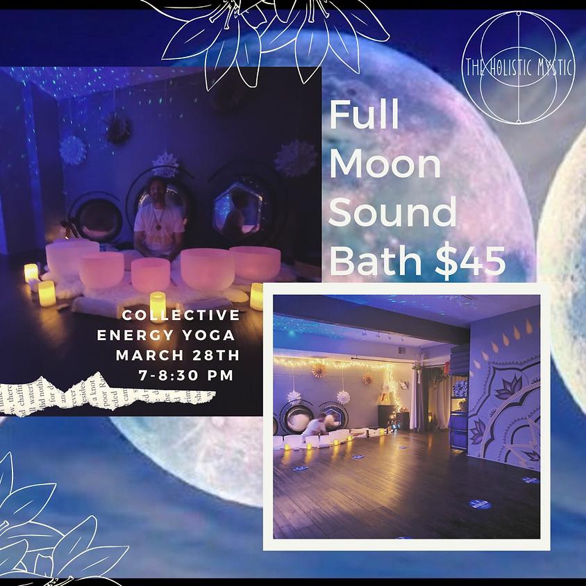 Full Moon Sound & Energy Healing