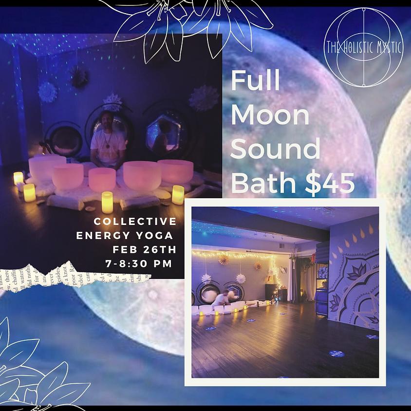 Snow Moon Sound & Energy Healing