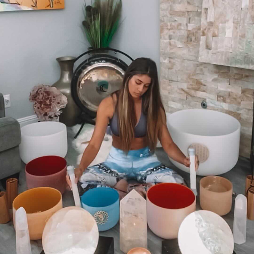 Crystalline Sound Bath Experience led by Carly Tway