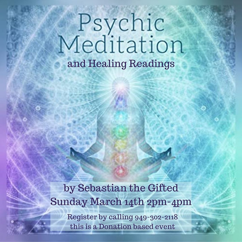 Psychic Healing Meditation and Readings by Sebastian the Gifted