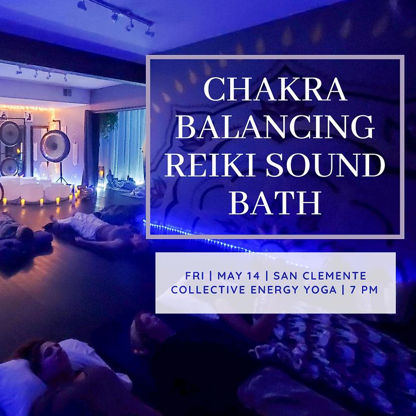 Chakra Balancing Reiki Sound Bath-led by Kyle Lam