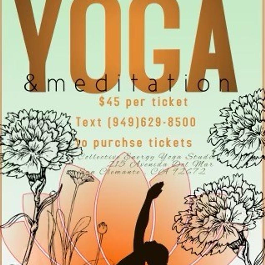 Yoga & Sound Healing Meditation with Sasha Selva and Elena