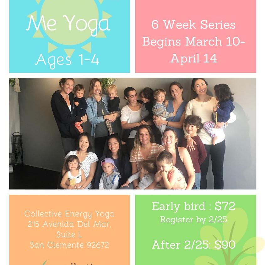 POSTPONED-Parent & Me Yoga Tuesdays 10:45am-11:30am