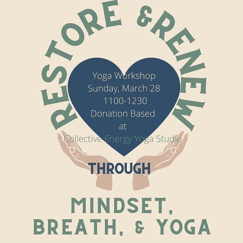 Restore and Renew-Yoga Workshop w/Lindsay Weidner