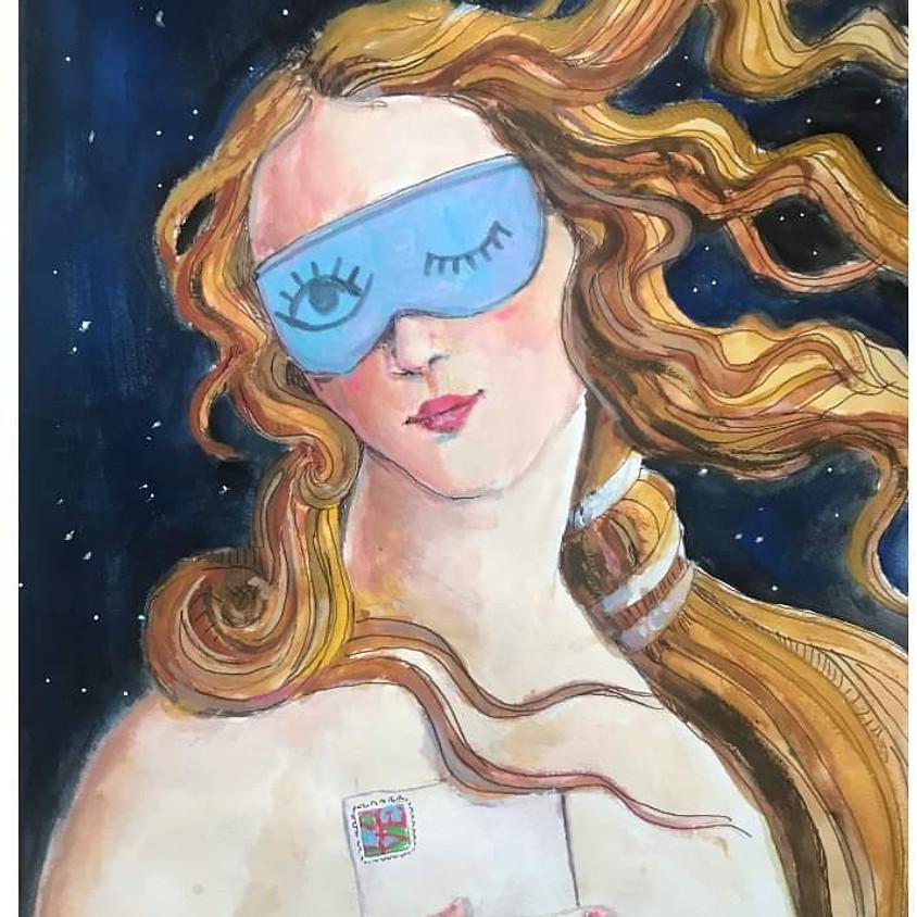 POSTPONED-Embracing the Feminine Creative: Art & Wine Night