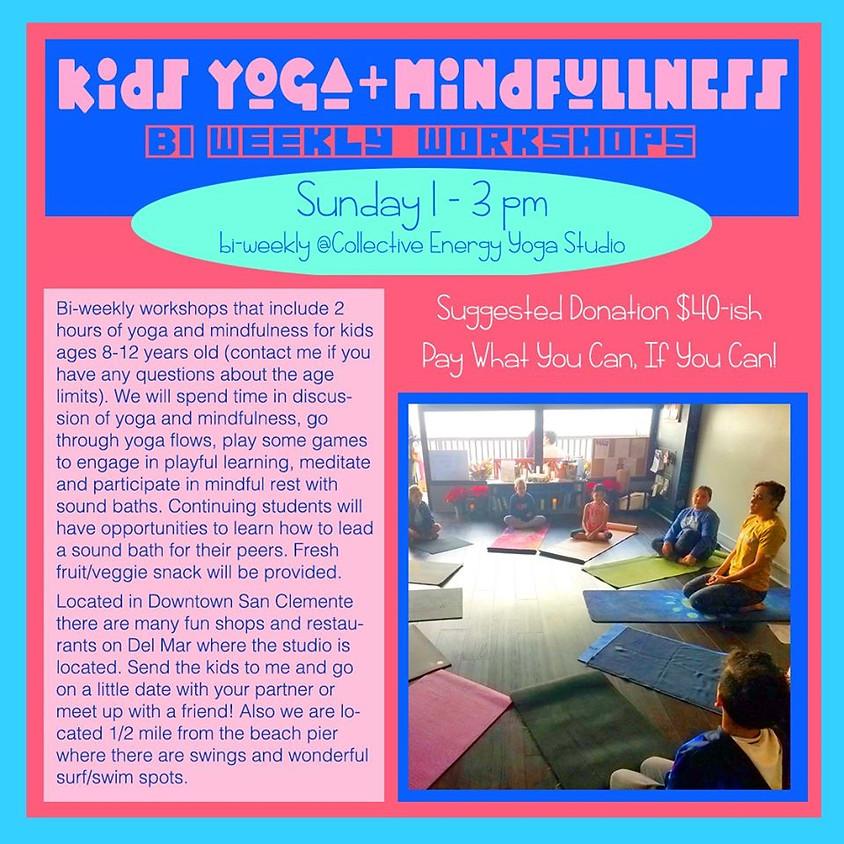 POSTPONED-Yoga and Mindfulness for Kids ages 8-12 w/Katsina Love