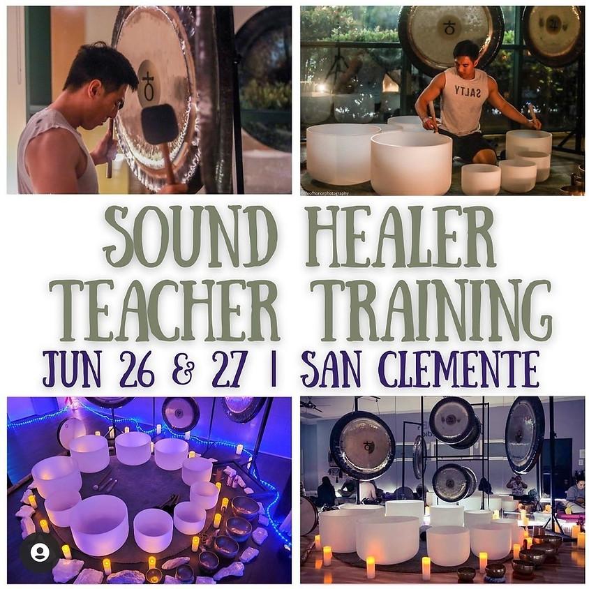 Sound Healer Teacher Training-led by Kyle Lam Day One