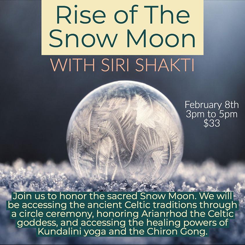 Snow Moon Ceremony with Siri Shakti