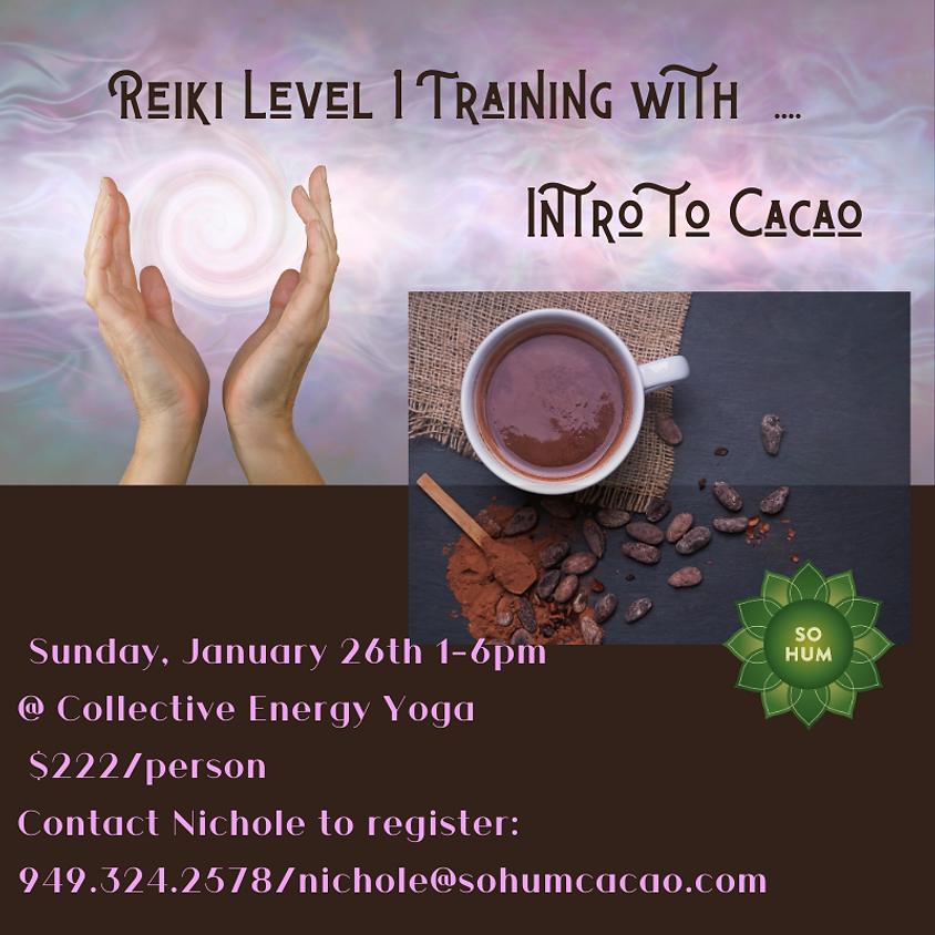 Reiki 1 Training w/Nichole Ferro 1-6pm