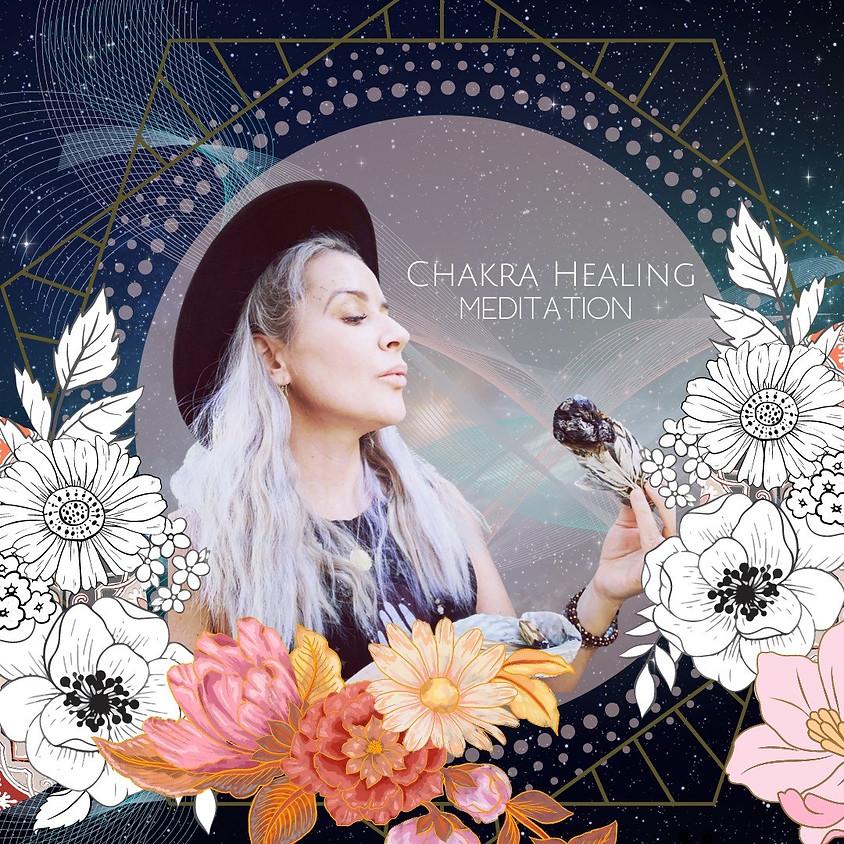 Chakra Healing Meditation w/Meadow Faith