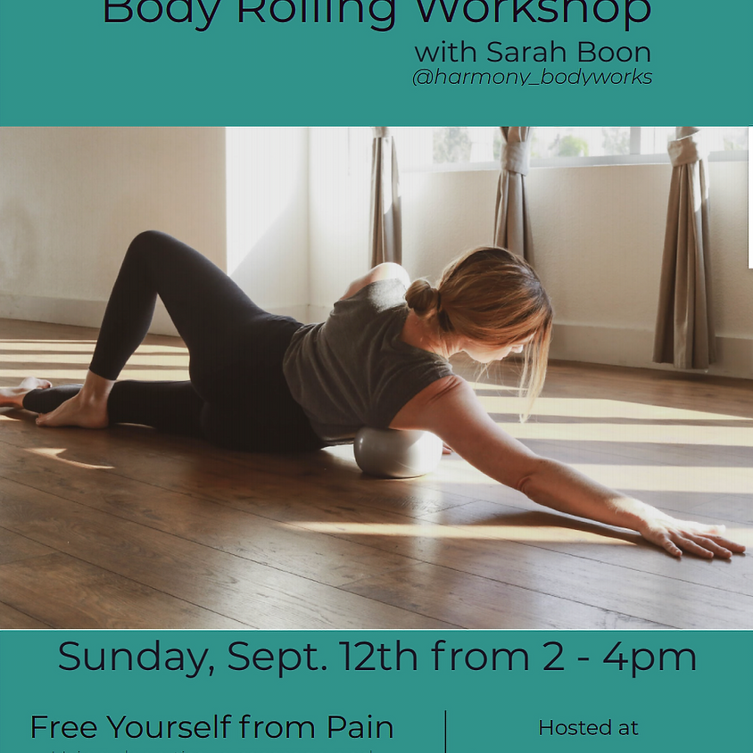 Yamuna Body Rolling Workshop led by Sarah Boon