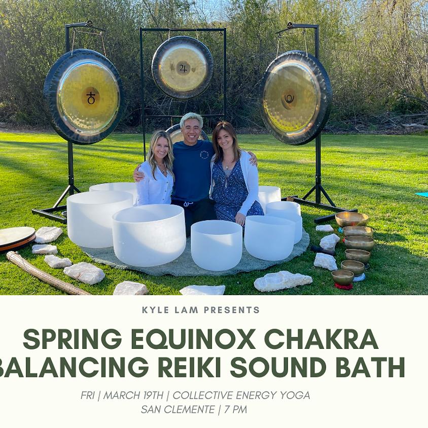 Spring Equinox Reiki Sound Bath-led by Kyle Lam