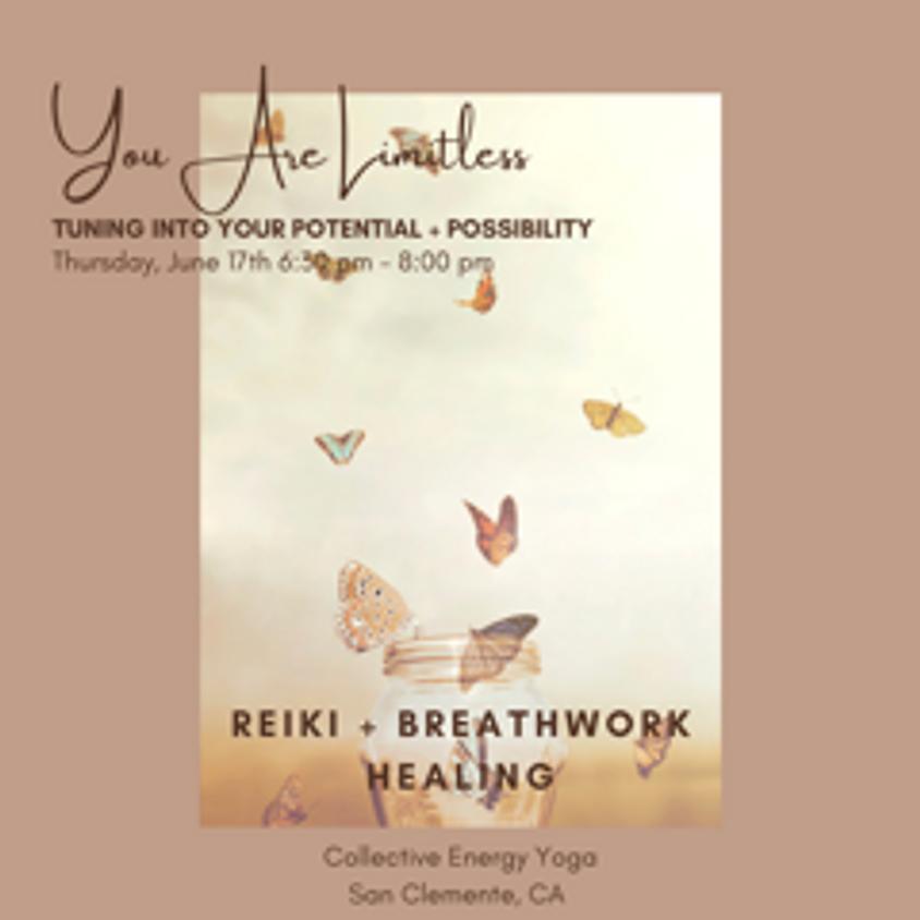 You Are Limitless Breathwork & Reiki Workshop