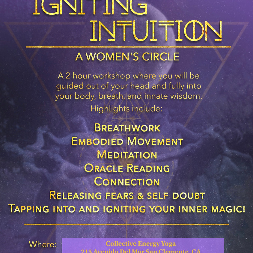 POSTPONED-Igniting Intuition-Womens Circle