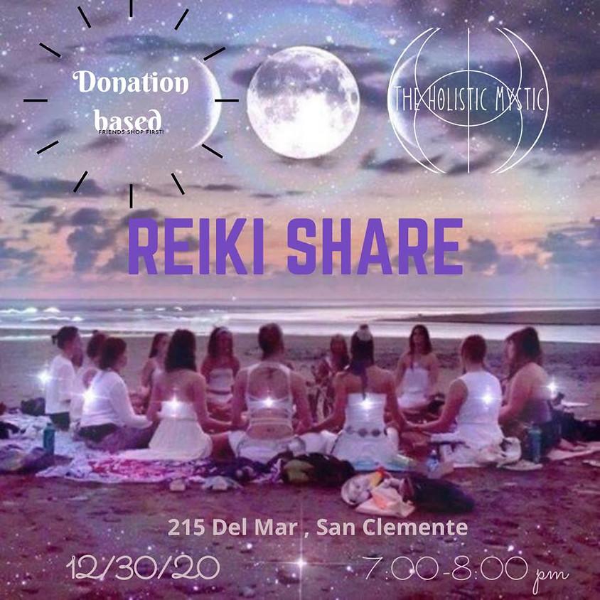 Reiki Share led by The Holistic Mystic Alicia McNaughton