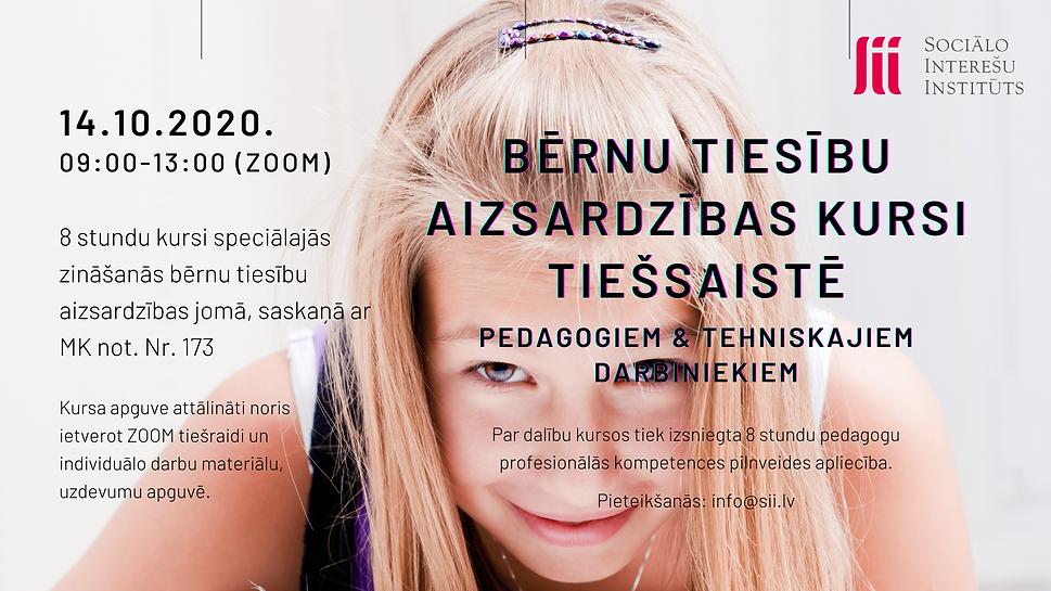 14 10 2020 Bernu tiesibu aizsardzibas ku
