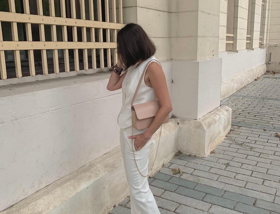 irAro X VIKELE STUDIO beige bag