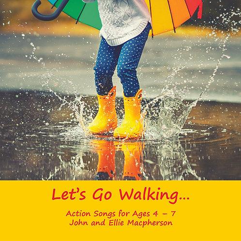 Let's Go Walking - CD & Booklet