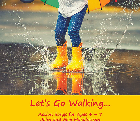 Let's Go Walking - CD & Booklet