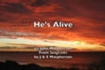He's Alive lyrics video