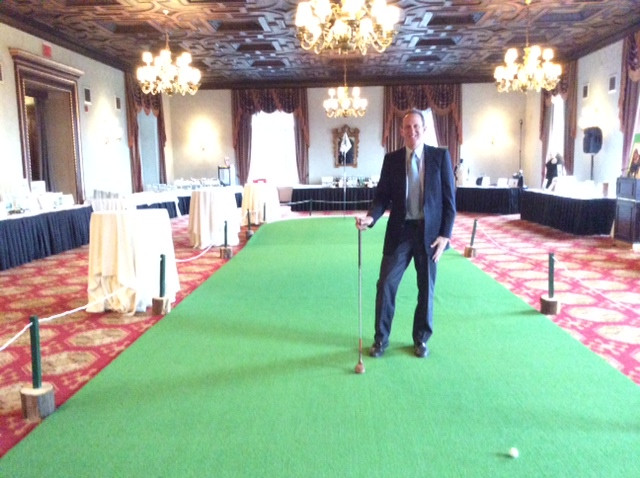 THE EXAMINER: Armonk Firm Helps Golf Foundation to Raise Funds