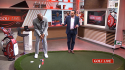Jerry Rice takes GOLF LIVE Putting Challenge