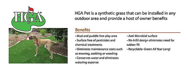 HGA Pet area