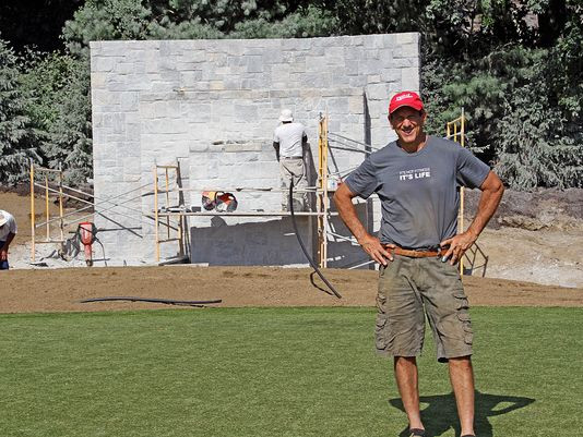 THE JOURNAL NEWS: Purchase homeowner adds 3-acre backyard golf course