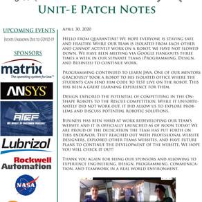 April Patch Notes