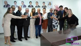 """""""Dever cumprido"""": com inauguração da sede própria, toma posse nova diretoria da ACE"""