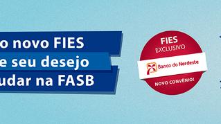 Com o novo Fies, realize seu desejo de estudar na FASB!